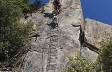 Ferit molt greu un escalador en un accident a Sant Vicenç d'Enclar