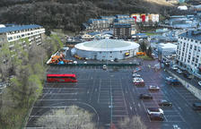 Govern manté l'heliport i l'edifici multifuncional