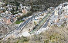 La CG-1 obre el nou tram del vial amb dos carrils a Sant Julià