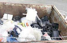 La deixalleria va tractar l'any passat 10.294 tones de residus