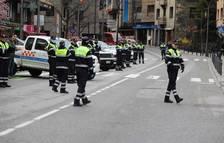 Els agents de circulació fan un homenatge a Lluís Reñé