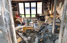 Veïns de vuit dels pisos cremats de Sant Julià no tornaran en dos mesos