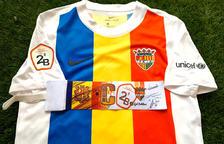 La samarreta de Casadesús i el braçalet de l'FC Andorra, novetats a Gol Solidari