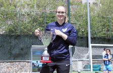 L'entrenadora de l'Inter Escaldes, Maria Cardoso