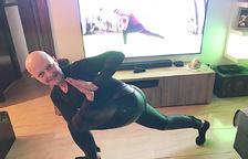 L'extiradora de precisió, Esther Barrugués, practica el ioga cada dia