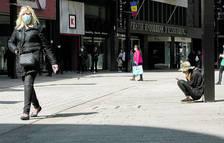Hotelers i comerciants lamenten que no s'apliquin els ERTO a l'abril