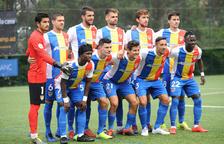 La plantilla de l'FC Andorra, en espera