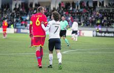 Griezmann cedeix a Gol Solidari les botes que va fer servir al partit d'Andorra