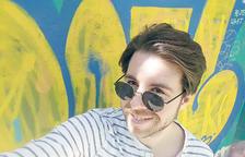 Adrià Tappi, guanyador de la categoria 25-30 anys de la 5a edició dels Microrelats del Carnet Jove