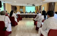 Acte de comiat per a tretze sanitaris cubans que tornen al seu país