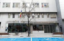 L'entrada de l'edifici de la CASS.