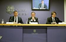Jordi Gallardo, Xavier Espot i Carles Naudi.