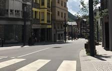 Un dels carrers afectats per els treballs que es duran a terme des d'avui i fins divendres