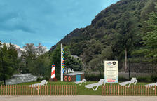 Sant Julià inaugurarà una platja fluvial a final de juny