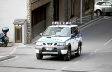 Detingut el conductor fugat de La Massana