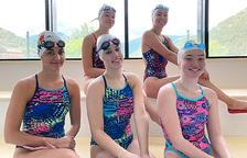 La selecció júnior d'artística reprèn a Ordino els entrenaments amb aigua