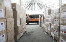El Govern es va gastar uns 3,7 milions en material sanitari
