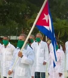 El metge cubà fugit és un militar
