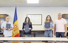 El Govern signa el conveni de col·laboració amb Vicky Jiménez Kasintseva i la federació