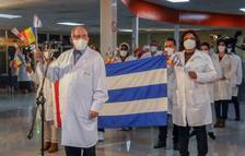 Els sanitaris cubans arriben a l'illa