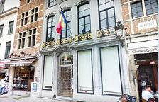 L'ambaixada d'Andorra situada al centre de Brussel·les.