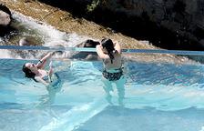 Caldea confia l'estiu a la nova piscina panoràmica al Valira