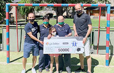 Gol Solidari entrega 5.000 euros a AINA
