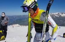 Vuit esquiadors de la FAE es preparen a Les Deux Alpes