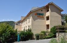La residència Caser d'Oliana.