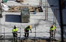 Treballadors de la construcció.