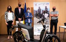 Un instant de la presentació de la Rider 468 Andorra.