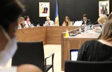 Un instant de la sessió del consell de comú d'Escaldes-Engordany.
