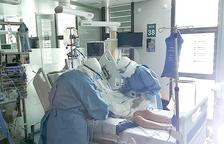 Un pacient a l'UCI.