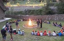 El primer foc de camp d'aquest estiu.