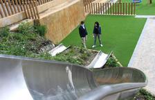 Els cònsols d'Ordino al nou parc de la Cortinada.