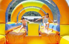 Inauguració de l'Aquaparc d'Andorra la Vella