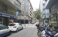 El carrer Callaueta d'Andorra la Vella.