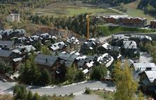 Vista de la construcció de cases alTarter.