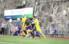 Duel de competició europea a l'Estadi Comunal Joan Samarra.