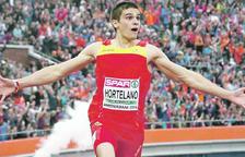 Bruno Hortelano a l'Europeu del 2016.