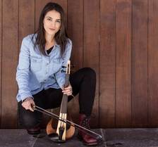 La violinista Mireia Clua