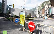 Els treballs per fer arribar la xarxa de calor a Andorra la Vella es van iniciar ahir.
