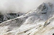 Avís de neu abundant a partir dels 1.500 metres i fort vent