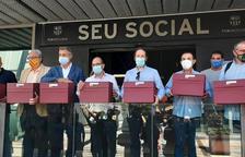 Taula a Andorra per al vot de censura blaugrana