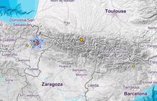 Un terratrèmol a Navarra es deixa sentir a Andorra