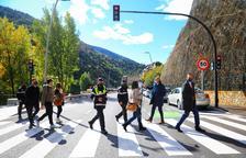 Mobilitat registra gairebé 700 multes al nou tram de Sant Julià durant l'estiu