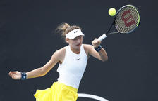 Vicky Jiménez s'estrena a Roland Garros amb victòria per la via ràpida