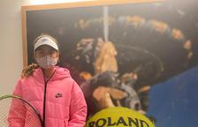 Vicky Jiménez també diu adeu al Roland Garros en dobles
