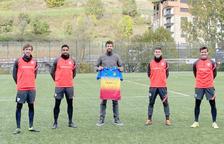 Gerard Piqué celebra el 78è aniversari de l'FC Andorra