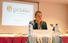 Saviola, ambaixador de Gol Solidari